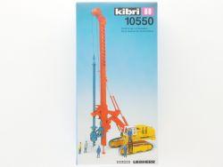 Kibri 10550 Liebherr 974 Bohrer Hydraulikbagger Delmag MIB NEU OVP