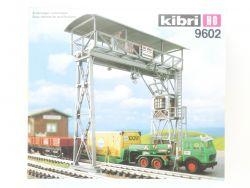 Kibri 9602 Überladekran Portalkran Bahnhof Bausatz 1:87 TOP  OVP