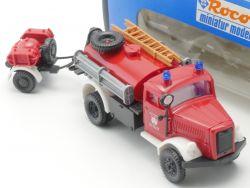 Roco 1337 Opel Blitz TLF 15 Feuerwehr Salzburg 1:87 NEU! OVP
