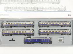 Märklin 4228 Wagen-Set Rheingold Schnellzug Beleuchtung DRG  OVP