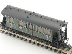 Minitrix 11013 Personenwagen 2./3.Kl Schubabteil K.Bay.Sts.B