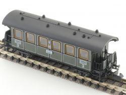 Minitrix 11013 Personenwagen Lokalbahn 3.Klasse K.Bay.Sts.B.