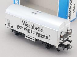 Märklin 4566 Kühlwagen Wasabröd ger rag i ryggen SJ NEU! OVP