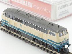 Fleischmann 7233 Piccolo Diesellok BR 218 907-4 Spur N TOP! OVP