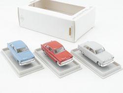 Brekina 19300 Ford 12M Rot 19301 Grau 19302 Blau Set 1:87 NEU OVP