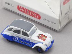 Wiking 080912 Citroën 2 CV Ente Feldschlösschen 1/87 NEU! OVP