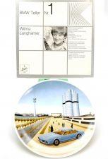 Porzellan München BMW Teller Nr.1 Langhamer E23 735i 730 1978 OVP OVP