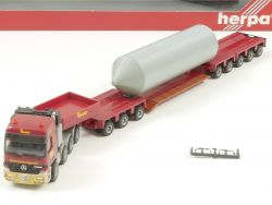 Herpa 147651 MB Titan Actros Schwertransport Paule SZ 1:87 OVP