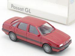 Herpa Werbemodell VW Volkswagen Passat GL rot 1:87 NEU! OVP