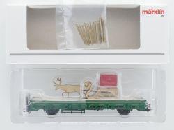 Märklin 48414 Weihnachtswagen 2004 mit Rentierschlitten NEU! OVP