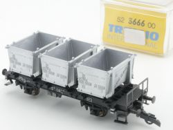 Trix 3666 International Güterwagen Behälterwagen DB H0 NEU OVP