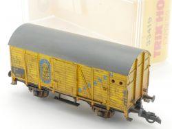 Trix 3619 International Güterwagen Bananen gealtert H0  OVP