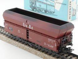 Märklin 4624 Selbstentladewagen DB Güterwagen Erz III d TOP OVP