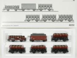 Märklin 46350 Muldenkippwagen-Set 1 Säuretopfwagen DB NEU! OVP
