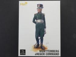 Hät 9316 Hat Würtemberg Jaeger Command Stab 18tlg 1:32 OVP