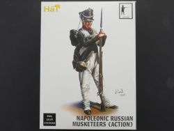 Hät 9321 Hat Napoleonic Russian Musketeers Action 1:32 seale OVP
