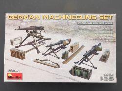 MiniArt 35250 Deutsche Maschinengewehre Set WW2 MG 1:35 OVP