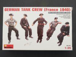 MiniArt 35191 Deutsche Panzerbesatzung Frankreich 1940 1:35 OVP