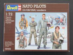 Revell 02402 NATO Piloten Firguren D GB USA Modern 1:72 OVP