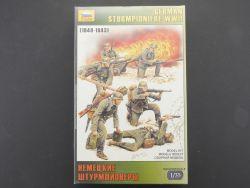 Zvezda 3613 Deutsche Sturmpioniere WWII Militär Figuren 1:35 OVP