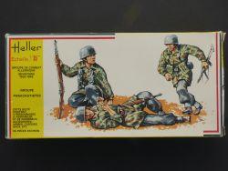 Heller 117 Deutsche Fallschirmjäger Kampfgruppe 50tlg 1:35 OVP