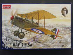 Roden 023 RAF Jagdflugzeug S.E.5a Hispano Suiza 1:72 sealed  OVP ST