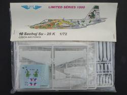 Aero 10 Suchjoj Su-25 K Tschechische Luftwaffe 1:72 MIB rare OVP