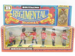 Britains 7255 Scots Guards Figuren Regimental Models Medal MIB OVP