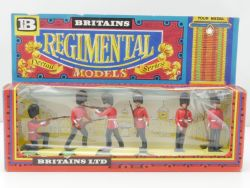 Britains 7255 Scots Guards Figuren Regimental Models MIB OVP