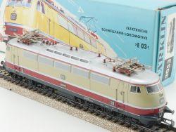 Märklin 3053 Schnellzug-Lokomotive E 03 002 seltener Karton! OVP