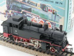 Märklin 3095 Dampflokomotive BR 74 701 DB blauer Karton TOP OVP