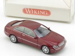 Wiking 2210128 Mercedes MB CLK 320 W209 Rot 1:87 H0 NEU! OVP