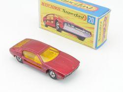 Matchbox 20 A Superfast Lamborghini Marzal Near MIB mint Box OVP