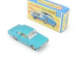 Matchbox 25 A Superfast Ford Cortina GT near mint N-MIB Box OVP