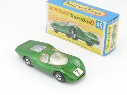 Matchbox 45 A Superfast Ford Group 6 nearest mint N MIB Box OVP
