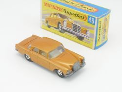 Matchbox 46 A Superfast Mercedes 300 SE W 112 nearest mint  OVP