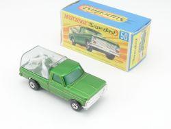 Matchbox 50 A Superfast Kennel Truck Near mint N MIB Box OVP
