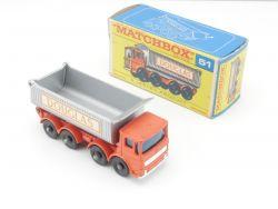 Matchbox 51 A regular wheels 8 Wheel Tipper mint MIB Box OVP
