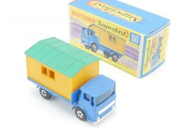 Matchbox 60A Superfast Office Site Hut Truck MIB volle Räder OVP