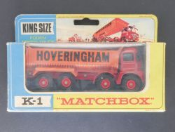 Matchbox K-1 King Size Foden Tipper Truck Hoveringham  OVP