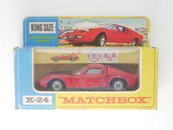 Matchbox K-24 King Size Lamborghini Miura Lesney nearest mint! OVP