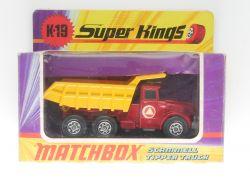Matchbox K-19 Super Kings Scammell Tipper Truck Lesney MIB! OVP