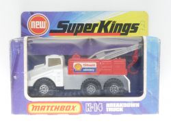 Matchbox K-14 Super Kings Breakdown Truck Shell recovery  OVP