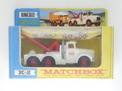 Matchbox K-2 King Size Scammell Heavy Wreck Truck Sehr gut! OVP