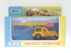 Matchbox K-14 King Size Taylor Jumbo Crane red weight Box OVP