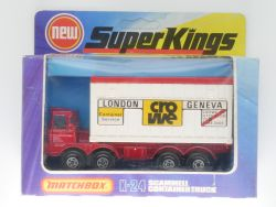 Matchbox K-24 Super Kings Scammell Container Truck Crowe MIB OVP