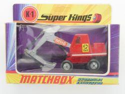 Matchbox K-1 Super Kings Hydraulic Excavator O&K Bagger NMIB OVP