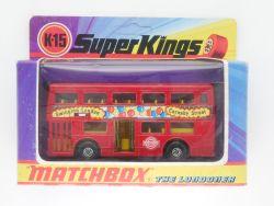 Matchbox K-15 Super Kings Londoner Bus Swinging Carnaby MIB OVP