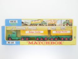 Matchbox K-16 King Size Dodge Tractor Twin Tippers Rare Box  OVP