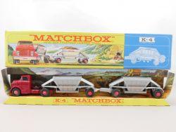 Matchbox K-4 King Size Fruehauf Hopper Train really near MIB OVP